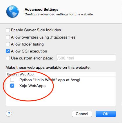 Configuring a Mac OS Server - Xojo Forum